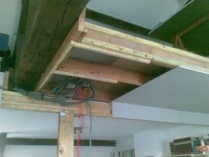 faux plafond étape