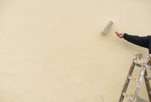 Préparation de la façade