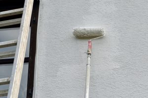 peinture pour une façade en brique