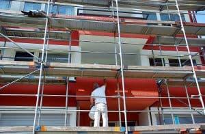 peinture de facade