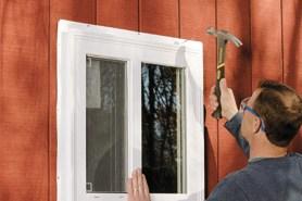 installation de fenêtre