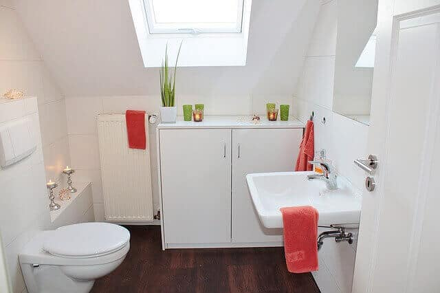 parquet de salle de bain