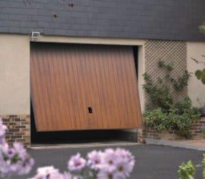 prix pose porte de garage en bois