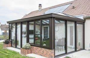exemple de veranda en brique ©Pixabay