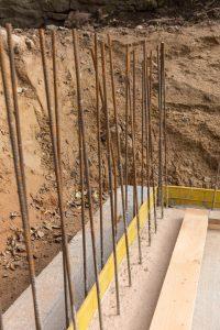 étapes de réalisation des fondations