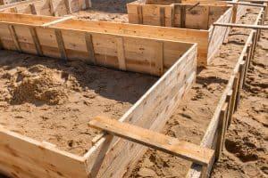 mise en œuvre des fondations semi-profondes