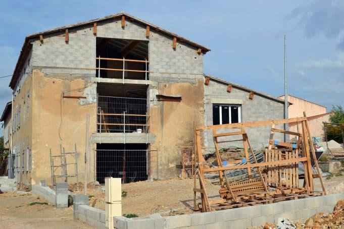 maison provençale en rénovation