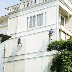 traitement des fissures de façade
