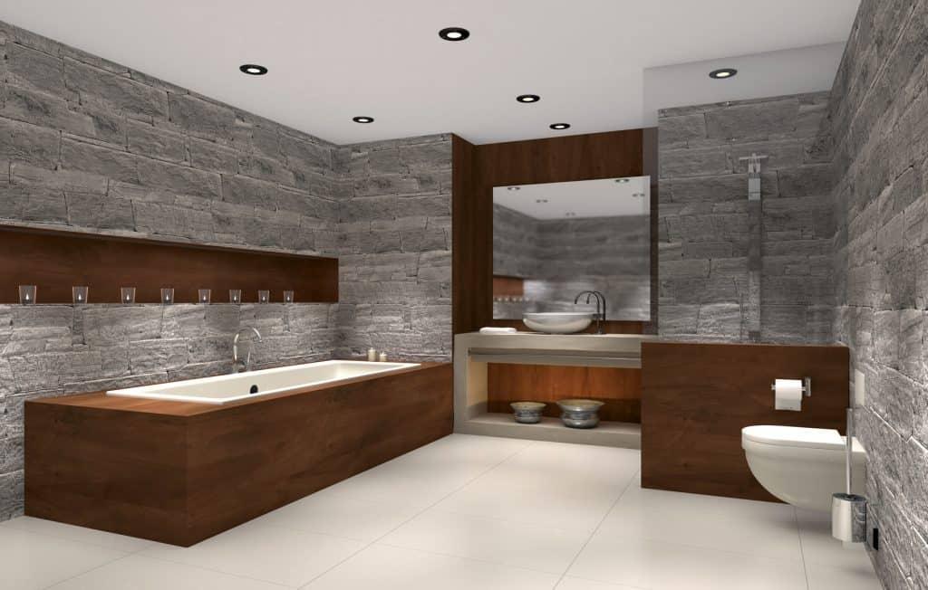 salle de bain à la scandinave