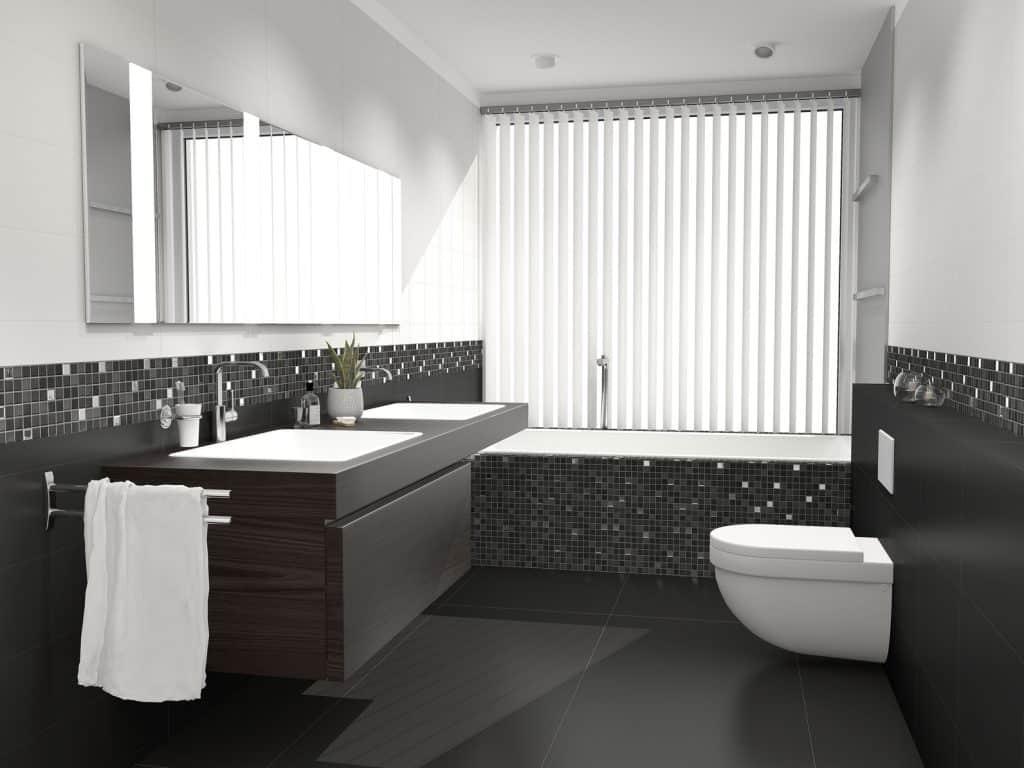 travaux de réaménagement de salle de bain