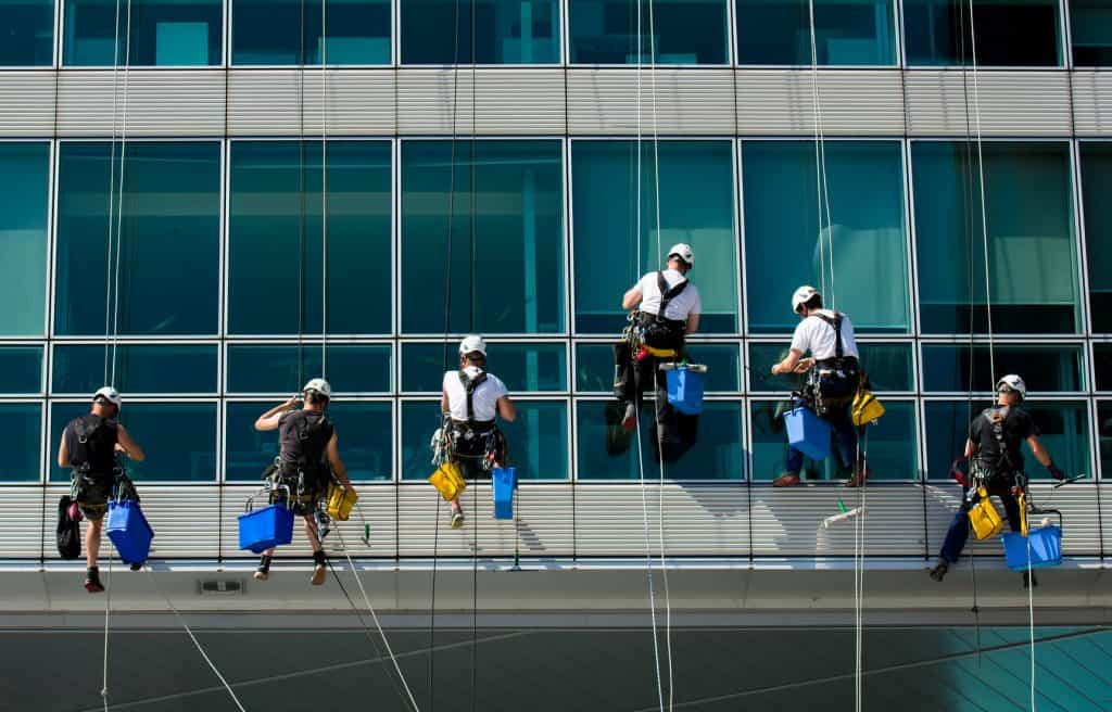 choix de votre entreprise de nettoyage de vitres