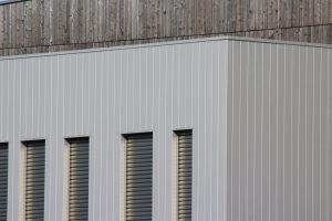 bardage façade garage