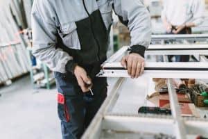 construction fenêtre PVC
