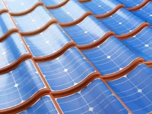 tuile panneau photovoltaïque