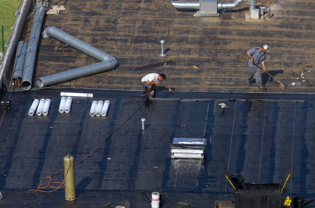Mettre en oeuvre l'étanchéité d'une toiture terrasse