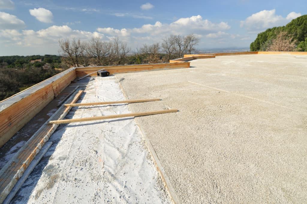 Étanchéité toiture terrasse béton